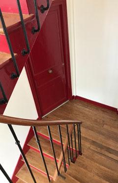 Rénovation cage d\'escaliers Paris 75 Ile-de-France